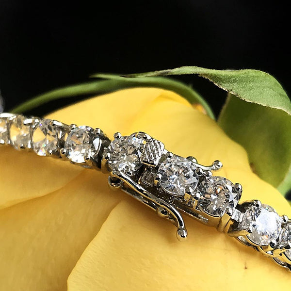 Tennis Bracelet 5mm White Gold