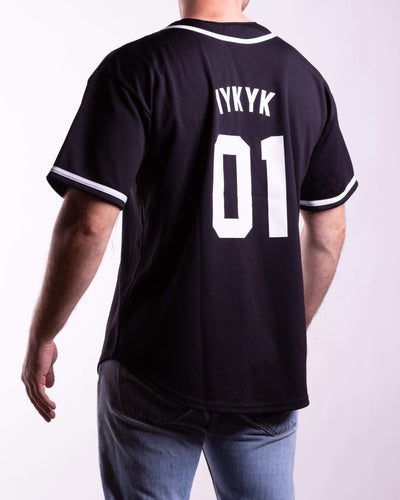 YoungLA baseball black jersey