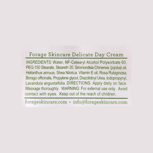 Delicate Skin Day & Night Face Cream with Shiitake Complex