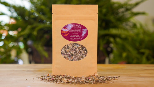 HaaShrooms Turkey Tail Mushroom Tea Blend
