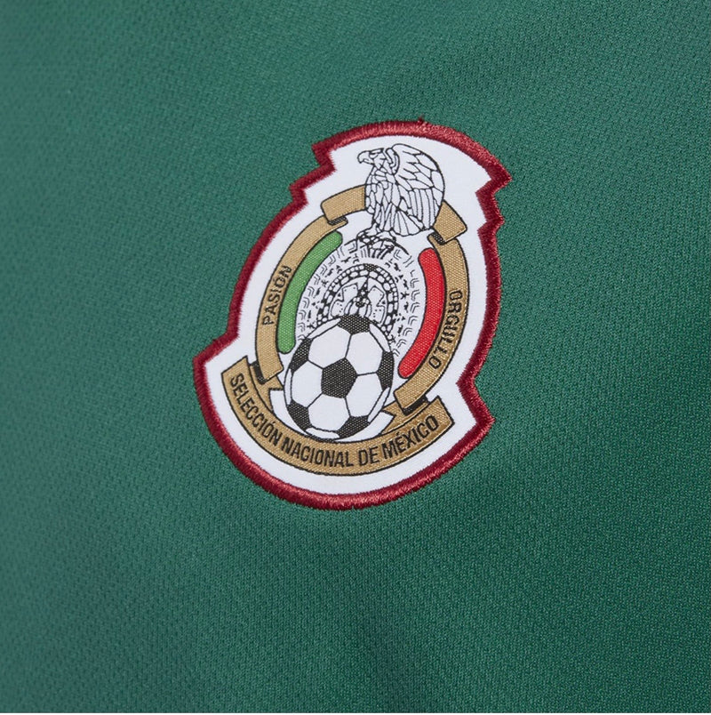 adidas Mexico Youth World Cup Home Soccer Jersey