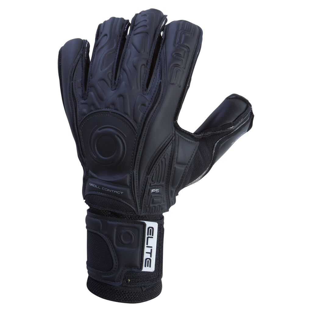 Elite Black Solo Goalkeeper Gloves