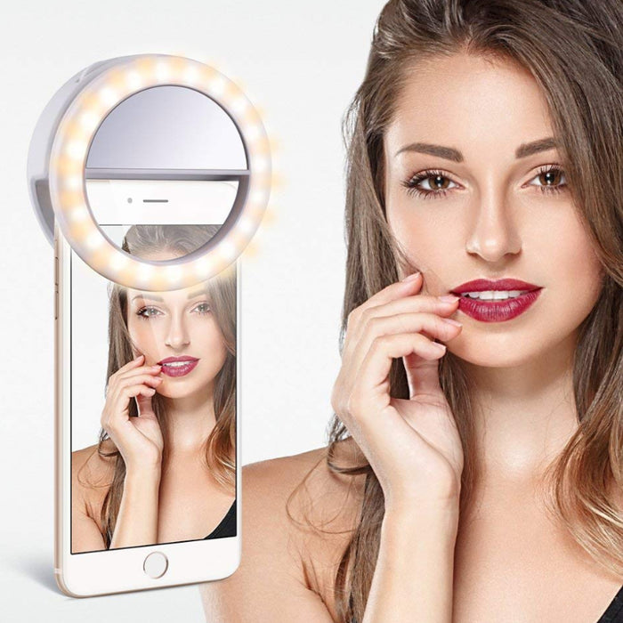 Camera Phone LED Ring Light