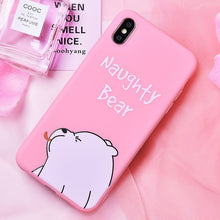 Load image into Gallery viewer, Unicorn Silicone Phone Case For iPhone 6, 6S 7   8  X XS MAX