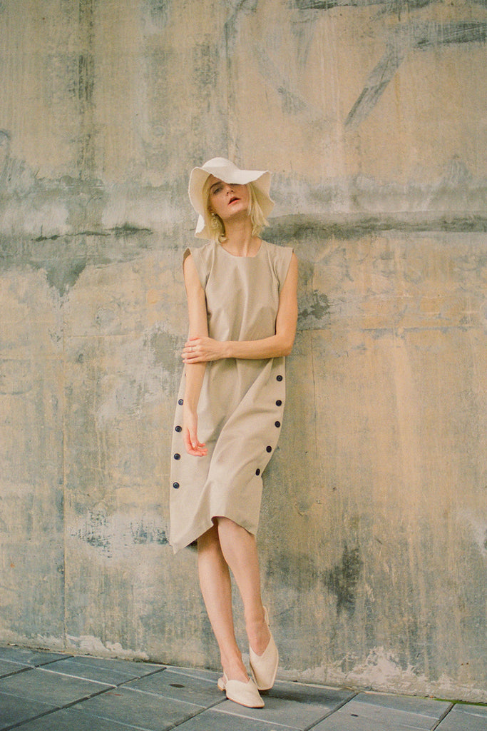 Alexina Dress Beige