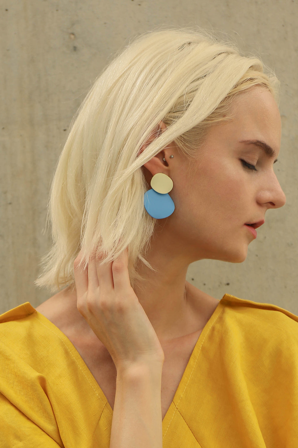 Double Dot Earring