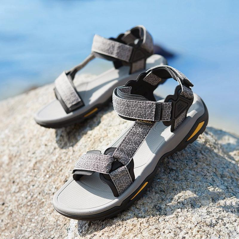 Men's Summer Water-Resistant Sandals - CAMEL