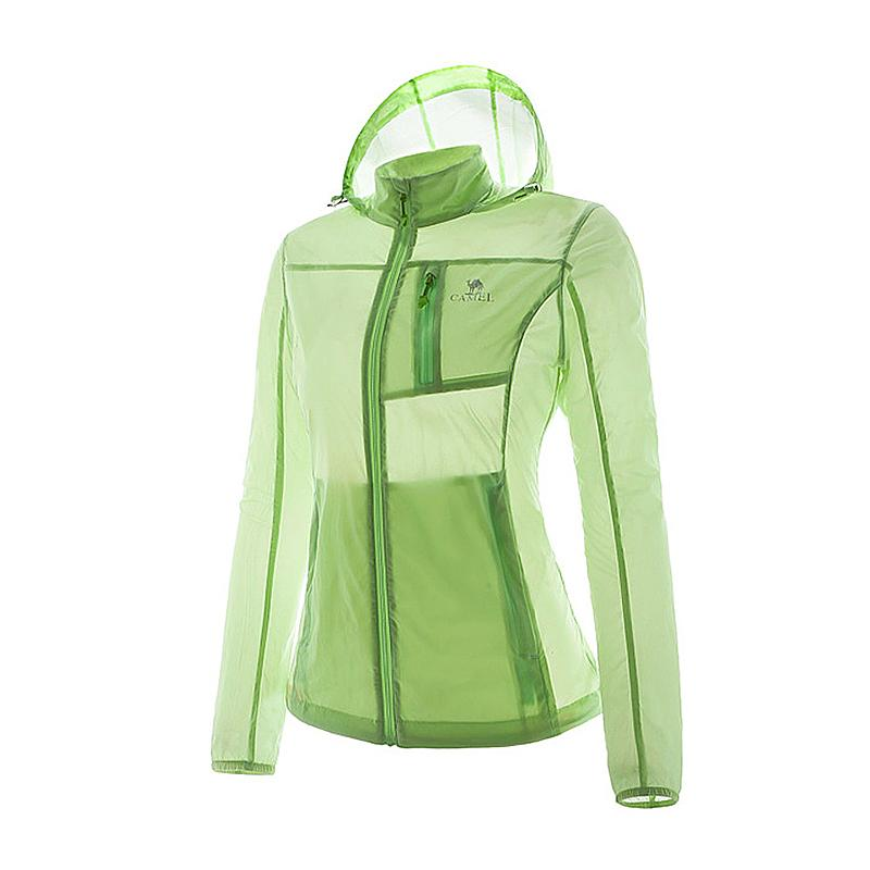 Women UV Proof Soft Shell Jacket - CAMEL