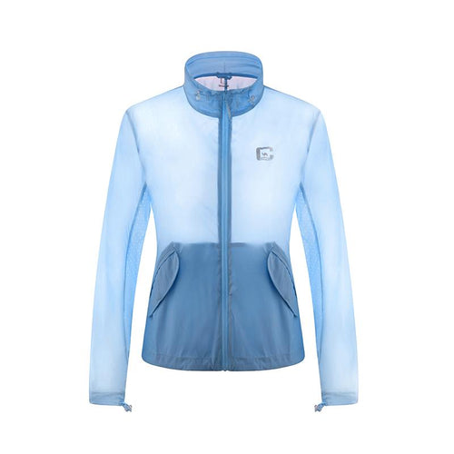Women UPF40+ Fashion Skin Jackets - CAMEL