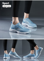 Women Breathable Running Shoes Summer Thin Ligth Casual Soft Outdoor Sports Walking Jogging Sneakers