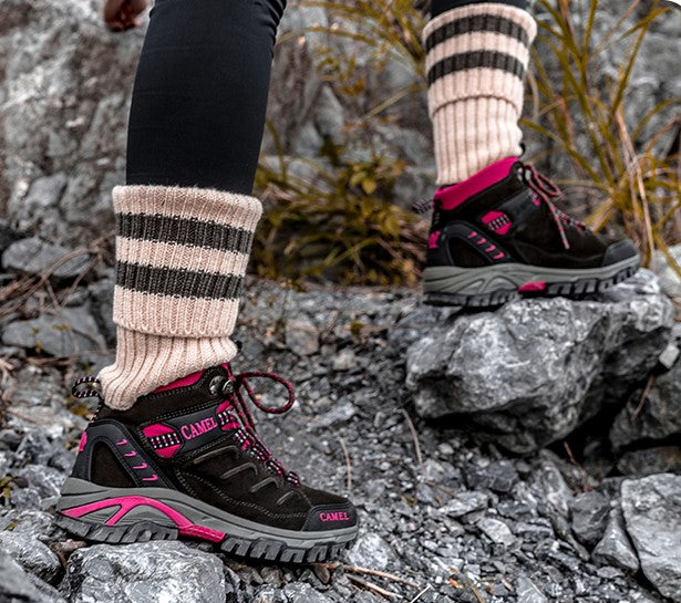 Women Hiking Shoes Anti-Slip Outdoor Sport Shoes Walking Trekking Climbing Sneakers Zapatillas Comfortable Boots