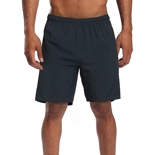 Men's Quick Drying Breathable Sports Shorts with Pockets - CAMEL