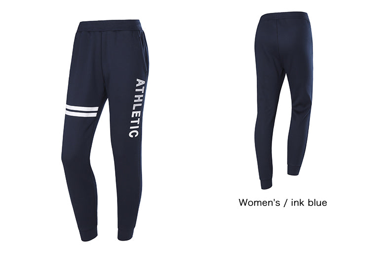 Women Sports Knit Pants Autumn Winter New Velvet Loose Breathable Trousers Fitness Beam Running Pants