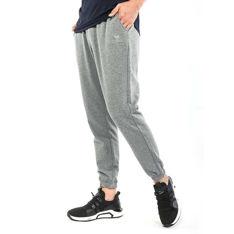 Men's Cotton Sportswear Jogger Pants - CAMEL