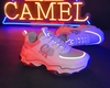 Men's Luminous Retro-Fashion Sneakers Dad Shoes
