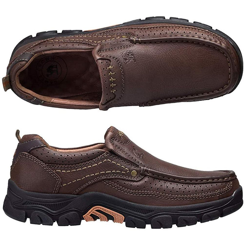 CAMEL CROWN Mens Loafers Casual Shoes Slip on Sneakers Lightweight Loafers Non Slip Trainers for Outdoor Travel Daily Walking Office