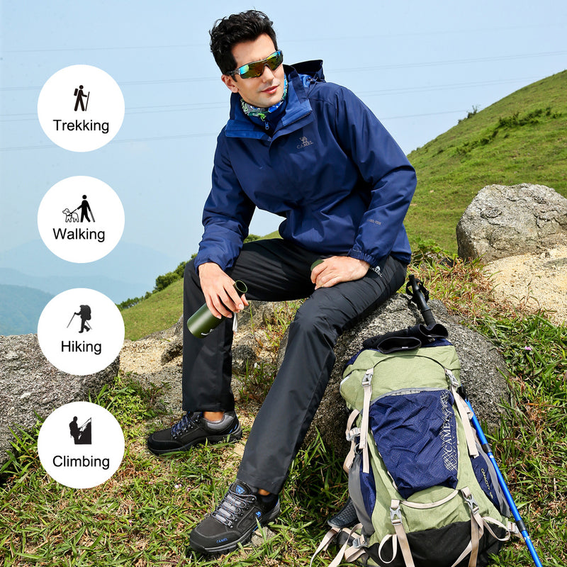 Men's Low-Cut Breathable Hiking Boots
