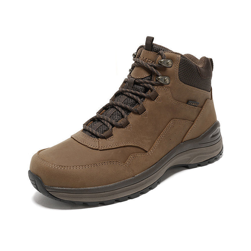 Men's Outdoor Climbing High-top Hiking Trekking Boots Non-slip Wear-resistant Shoes