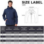 Outdoor Jacket Men Winter Ski Jacket Windbreaker 3 in1 Hooded Coat - CAMEL