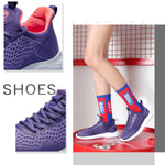 Women's Ultralight Breathable Running Shoes Shock-Absorbing Sneakers