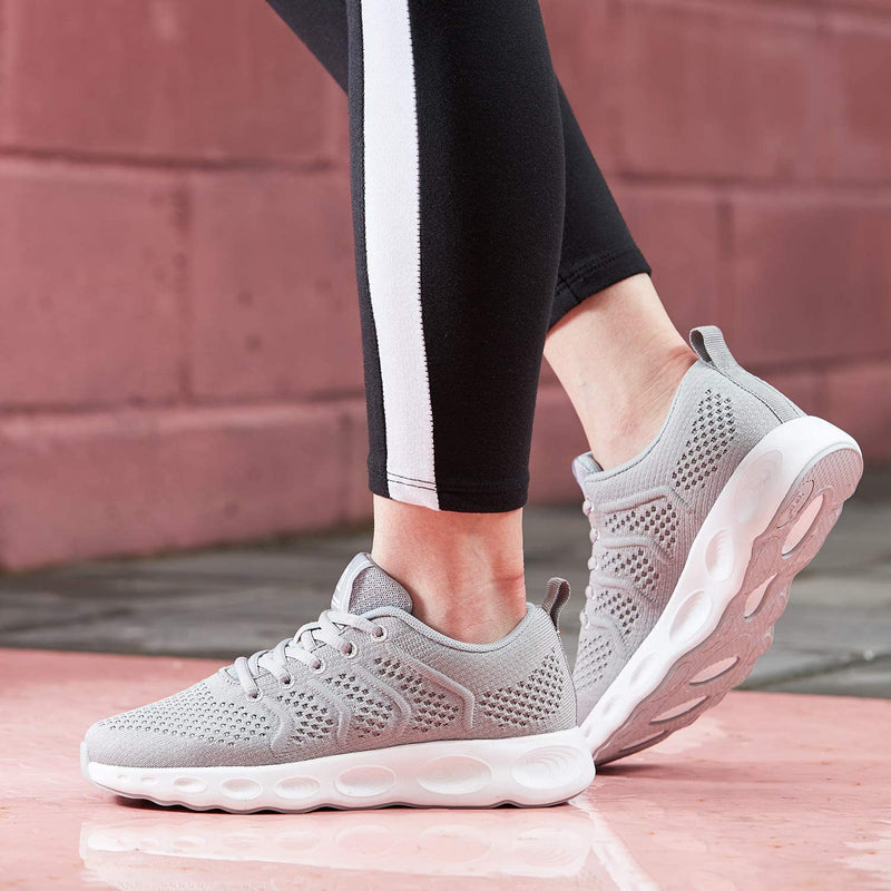 Women's Running Shoes Walking Sneakers Slip on Mesh Lightweight Breathable Gym Shoes