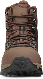 Hiking Boots Men Waterproof Lightweight - Trekking Shoes High-Traction Grip Breathable