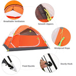 3-4 Person Camping Dome Tent with Automatic Waterproof Pop up Hiking Tents,Lightweight Waterproof Portable Backpacking Tent for Outdoor Camping/Hiking