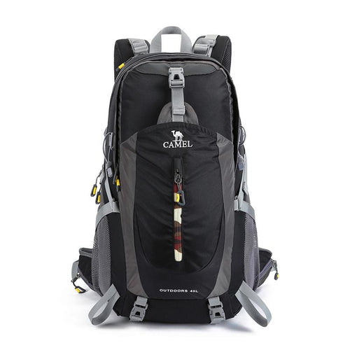 40L Outdoor Portable Hiking Backpack - CAMEL
