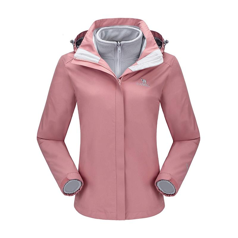 Women 3-in-1 Interchange Jacket - CAMEL