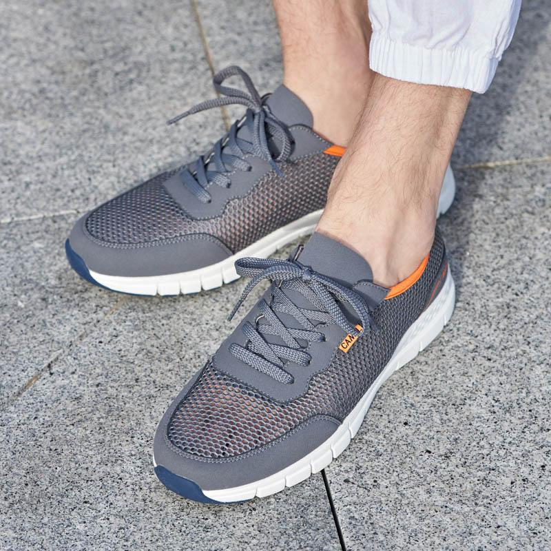 Men Breathable Running Shoes - CAMEL