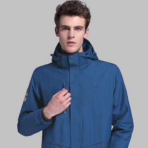 Men 3 in 1 Water Repellent Jacket - CAMEL
