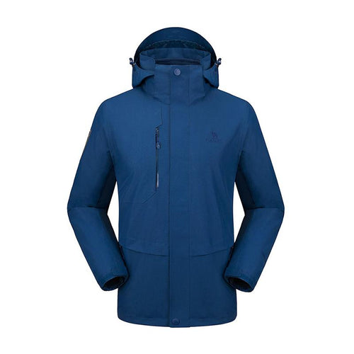 Men 3 in 1 Water Repellent Jacket - CAMEL CROWN