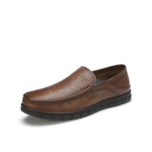 Men Classic Casual Leather Shoes - CAMEL CROWN