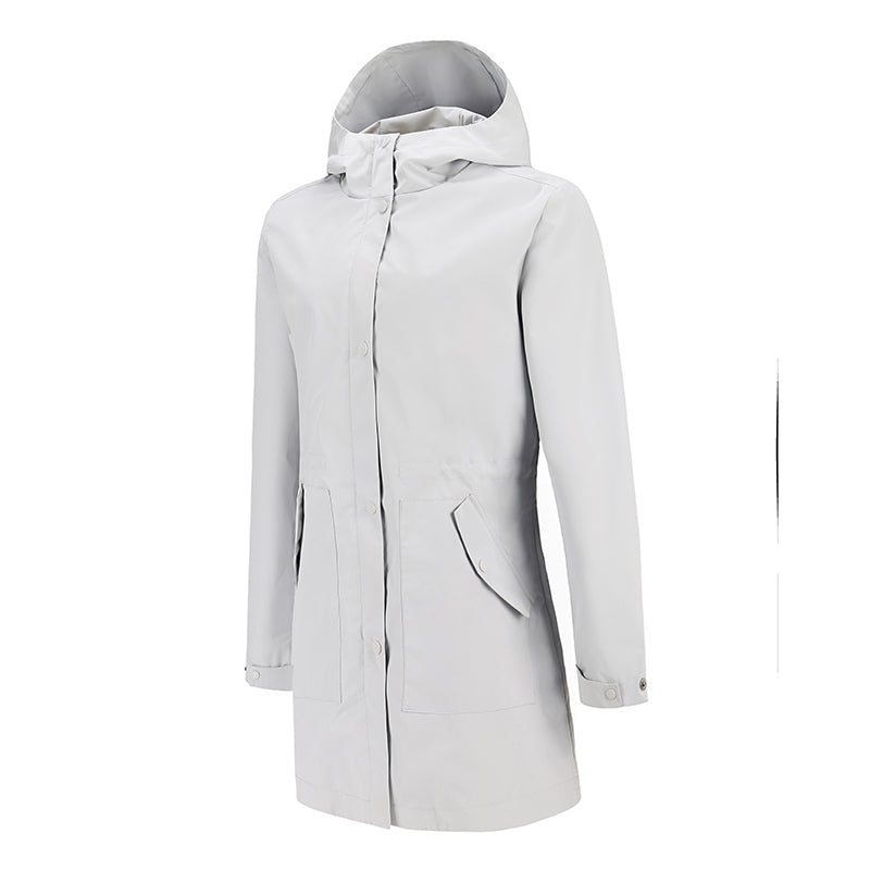 Women's Waterproof Long Rain Jackets
