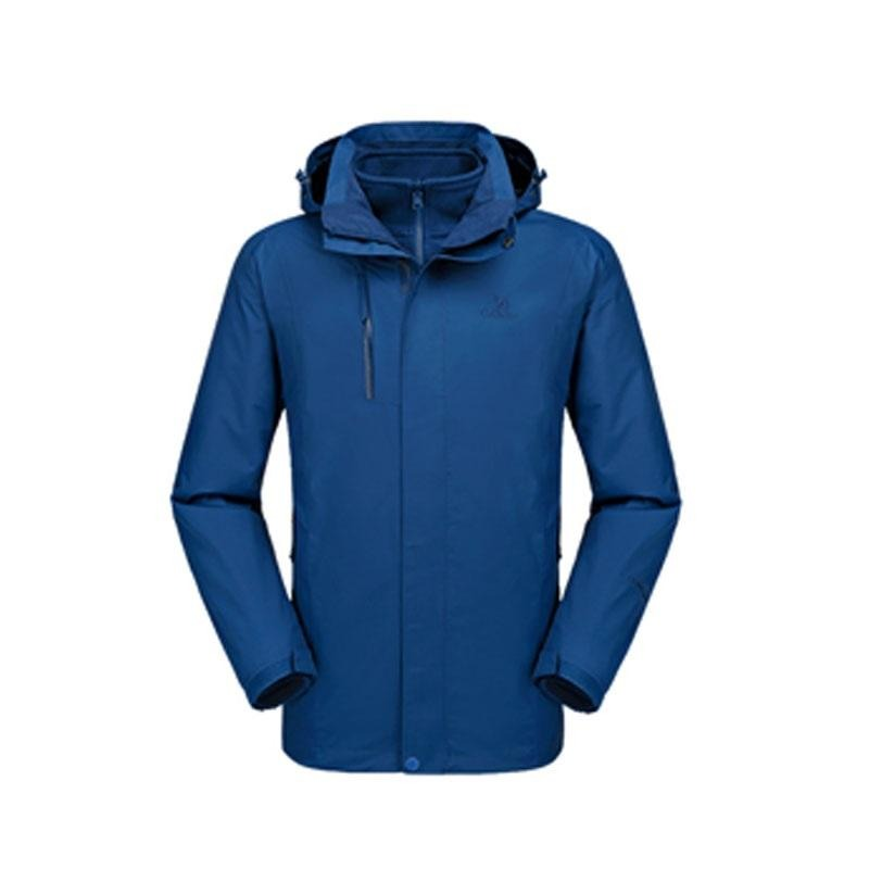 Men's 3 in 1 Waterproof Breathable Jacket - CAMEL