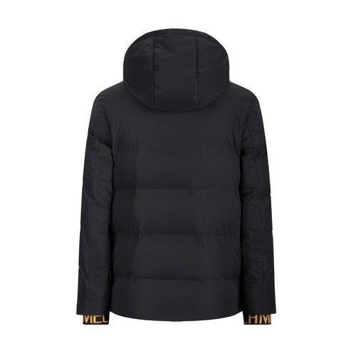 Men's Fashion Hardcore Style Down Jacket with Hood - CAMEL