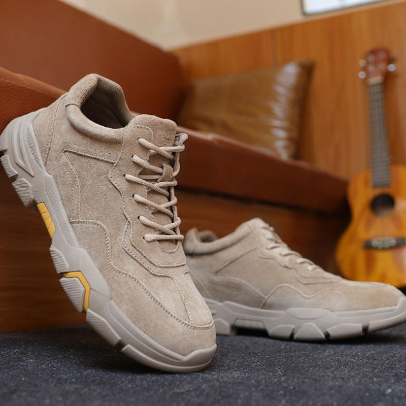 Men's Fashion Safety Work Boots - CAMEL