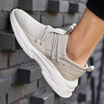 Men's Flyknit Fashion Casual Sneakers - CAMEL