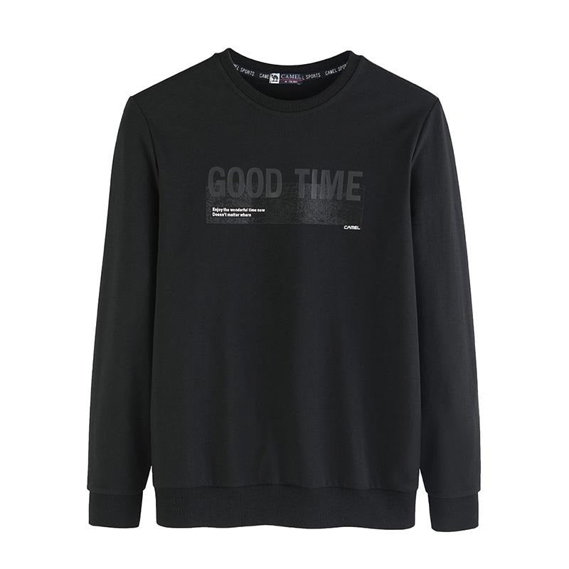 Men's Good Time Casual Sweatshirt - CAMEL