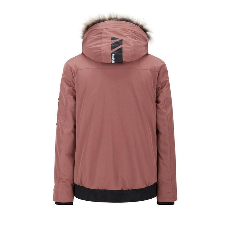 Men's Stylish Duck Down Jacket with Hood for Winter - CAMEL