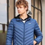 Men's Ultra Lightweight Down Jacket - CAMEL