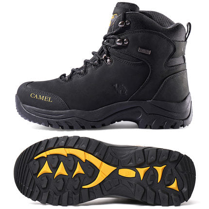 Men's Waterproof Hiking Shoes Non-Slip High Top Boots