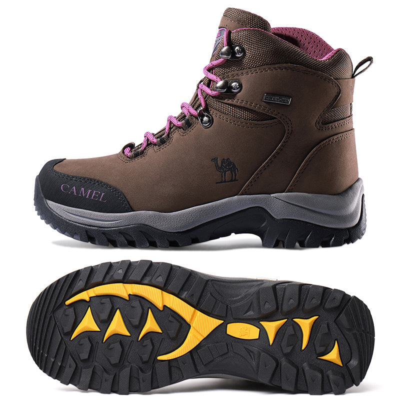 Women's Waterproof Hiking Shoes Non-Slip High Top Boots