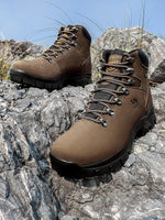 Men's Outdoor Sports Tactical Shoes/Boots for Hiking, Mountaineering, Camping, Waterproof Leather Tactical Shoes