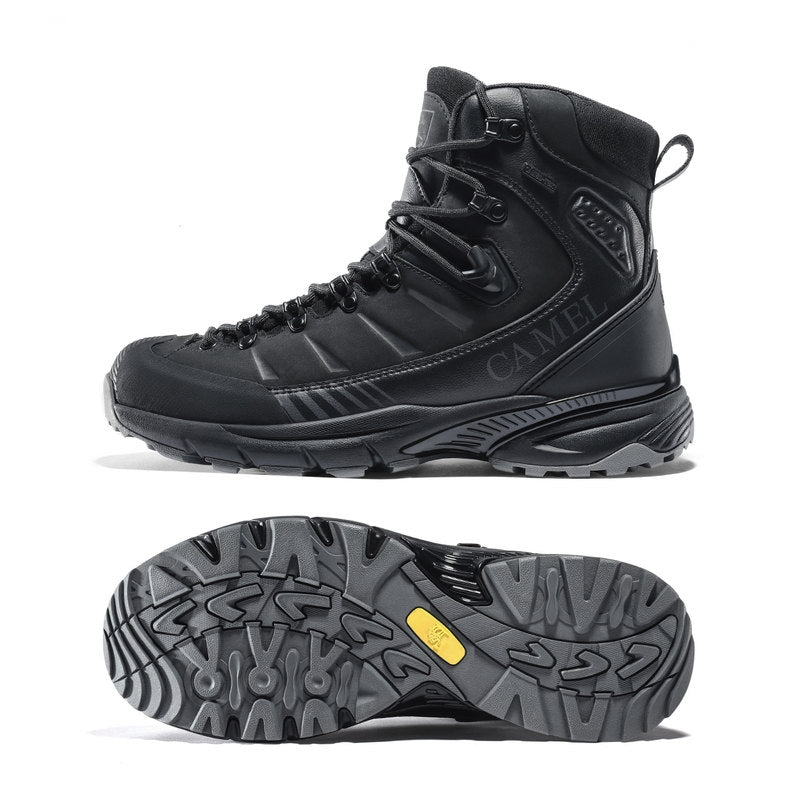 NEW Men Outdoor Trekking Shoes Waterproof Non-slip Hiking Winter Warm Army Tactical Combat Military Boots
