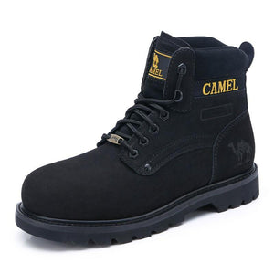 Steel-toe Work Boots Classic for Men - CAMEL