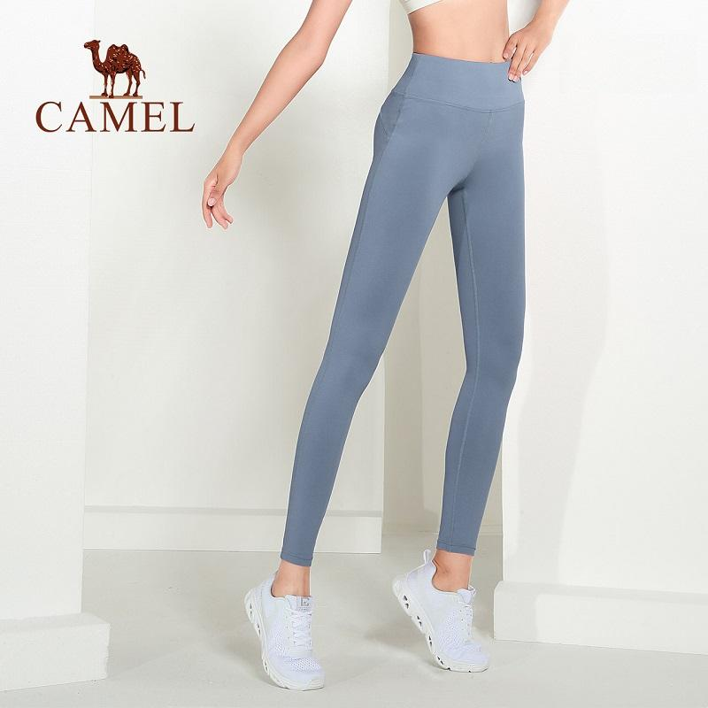 Women's High-Waist Butt-Lifting Leggings For Yoga - CAMEL