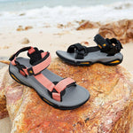 Women's Outdoor Sandals For Summer Casual Comfortable Non-slip Beach Shoes - CAMEL