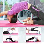 Yoga Wheel for Stretching and Improving Backbends 13 x 5 Inch - CAMEL