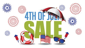 4th of July Independence Day Sale!